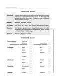 Berichte Arbeitsblätter Für Deutsch Meinunterricht