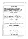 Deutsch_neu, Deutsch, Sekundarstufe II, Primarstufe, Sekundarstufe I, Didaktik, Lesen, Sprache, Richtig Schreiben, Unterrichtsmethoden, Schriftspracherwerb, Rechtschreibung und Zeichensetzung, Sprachbewusstsein, Laut-Buchstaben-Zuordnung, Lösung für Lehrer, Wörter mit ie, Rechtschreibung & Zeichensetzung, Langer Vokal, Rechtschreibung, Kennzeichnung der langen Vokale, Dehnungs-h