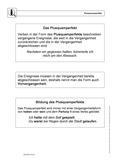 Deutsch, Deutsch_neu, Sprache, Primarstufe, Sekundarstufe II, Sekundarstufe I, Didaktik, Sprachbewusstsein, Grammatik, Sprache und Sprachgebrauch untersuchen, Unterrichtsmethoden, Tempus, Sprachliche Strukturen und Begriffe auf der Wortebene, Wortarten, Lösung für Lehrer, Verb