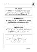 Deutsch_neu, Deutsch, Primarstufe, Sekundarstufe II, Sekundarstufe I, Sprache, Didaktik, Sprache und Sprachgebrauch untersuchen, Grammatik, Sprachbewusstsein, Unterrichtsmethoden, Sprachliche Strukturen und Begriffe auf der Wortebene, Wortarten, Lösung für Lehrer, Tempus, Verb