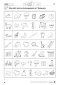 Deutsch, Sprache, Sprachbewusstsein, Rechtschreibung und Zeichensetzung, Phonologische Bewusstheit, Richtig Schreiben, Konsonanten, Anlaute