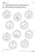 Deutsch, Sprache, Sprachbewusstsein, Rechtschreibung und Zeichensetzung, Phonologische Bewusstheit, Richtig Schreiben, Anlaute, Konsonanten