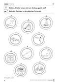 Deutsch, Sprache, Rechtschreibung und Zeichensetzung, Sprachbewusstsein, Richtig Schreiben, Phonologische Bewusstheit, Konsonanten, Anlaute