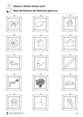 Deutsch, Sprache, Sprachbewusstsein, Sprachförderung, Phonologische Bewusstheit, Reime