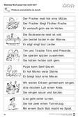 Deutsch_neu, Primarstufe, Sprache und Sprachgebrauch untersuchen, Lesen, sinnentnehmendes lesen, bild-text-zuordnung