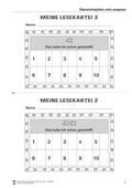 Deutsch, Lesen, Schriftspracherwerb, Leseverstehen und Lesestrategien, Lesestrategien, Leseförderung, Lesekartei