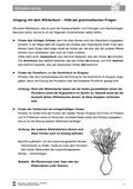 Deutsch, Sprache, Didaktik, Sprachbewusstsein, Aufbau von Kompetenzen, Unterrichtsmethoden, Umgang mit dem Wörterbuch, Methodentraining, Lösung für Lehrer, daz/daf material, arbeit mit dem wörterbuch