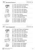 Deutsch, Didaktik, Lesen, Unterrichtsmethoden, Schriftspracherwerb, Lösung zur Selbstkontrolle für SuS, Leseförderung, Lesekompetenz, leseverstehen