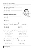 Mathematik, Zahlen & Operationen, Grundrechenarten, Dezimalzahlen, Bruchrechnung, Arithmetik