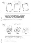 Deutsch, Themenfelder, Lesen, Jahreszeiten, Schriftspracherwerb, Leseförderung, Lesekompetenz, lesemotivation