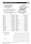 Deutsch, Didaktik, Sprache, Unterrichtsmethoden, Grammatik, Sprachbewusstsein, Lösung zur Selbstkontrolle für SuS, Wortarten, Adjektive und Verben, arbeit mit dem wörterbuch