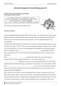 Deutsch, Literatur, Sprache, Fiktionale Texte, Umgang mit fiktionalen Texten, Grammatik, Sprachbewusstsein, Epik, Analyse fiktionaler Texte, Satzarten, Sprachstil, Erzählungen, Satzanfänge variieren