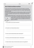 Deutsch, Themenfelder, Didaktik, Literatur, kinderrechte, Unterricht vorbereiten, Non-Fiktionale Texte, Sachtexte