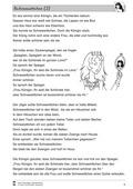 Deutsch, Lesen, Literatur, Schriftspracherwerb, Fiktionale Texte, Umgang mit fiktionalen Texten, Epik, Analyse fiktionaler Texte, Gattungen, Frau Holle, Märchen, leseverstehen