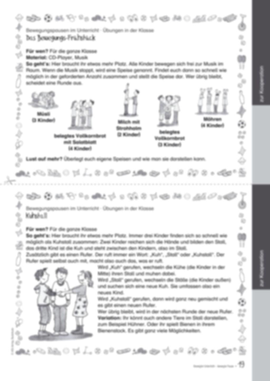 Übungen und Spiele für eine bewegte Grundschule: Material komplett Preview 15