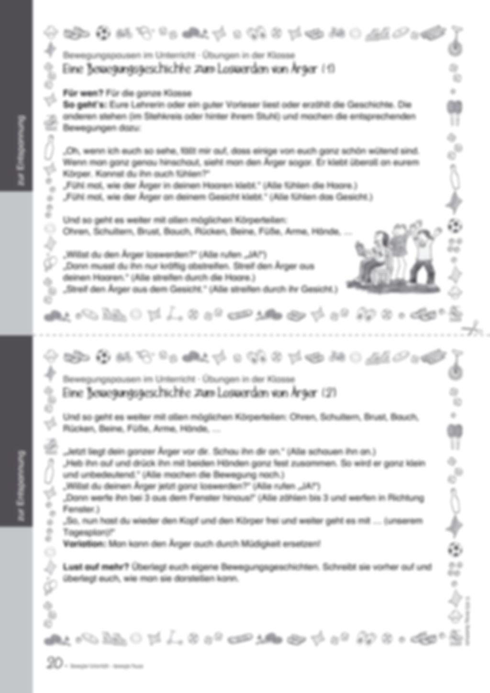 Übungen und Spiele für eine bewegte Grundschule: Material komplett Preview 16