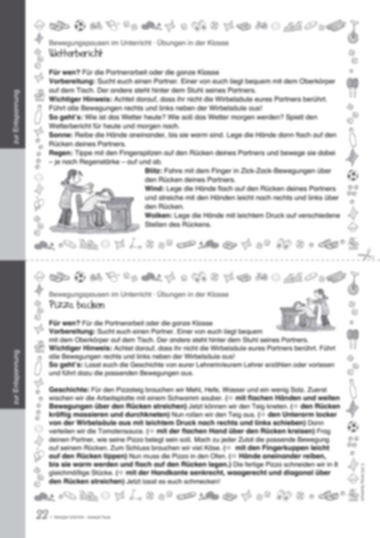 Übungen und Spiele für eine bewegte Grundschule: Material komplett Preview 18