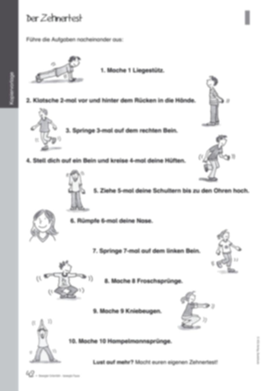 Übungen und Spiele für eine bewegte Grundschule: Material komplett Preview 38