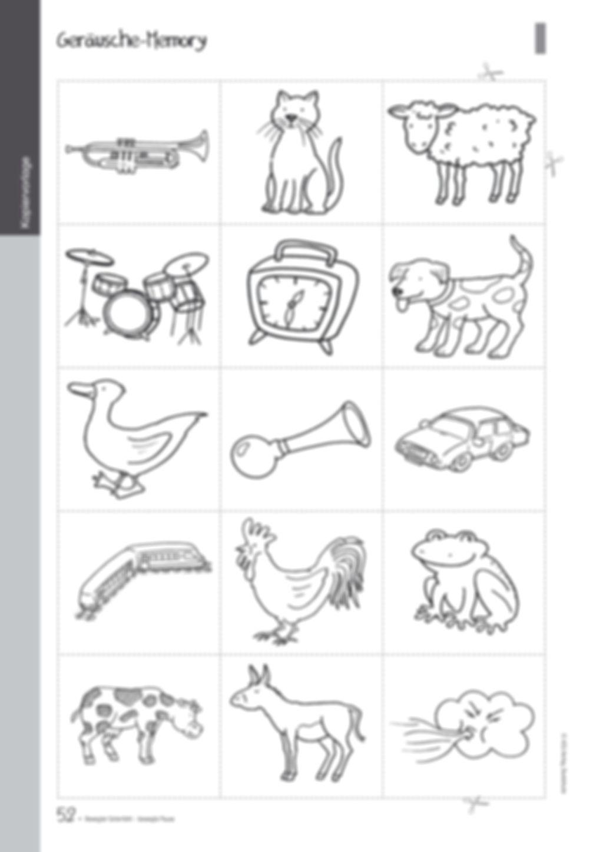 Übungen und Spiele für eine bewegte Grundschule: Material komplett Preview 48