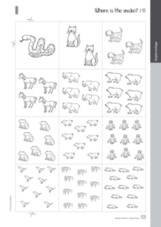 Übungen und Spiele für eine bewegte Grundschule: Material komplett Preview 49