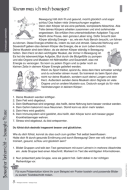 Übungen und Spiele für eine bewegte Grundschule: Material komplett Preview 4