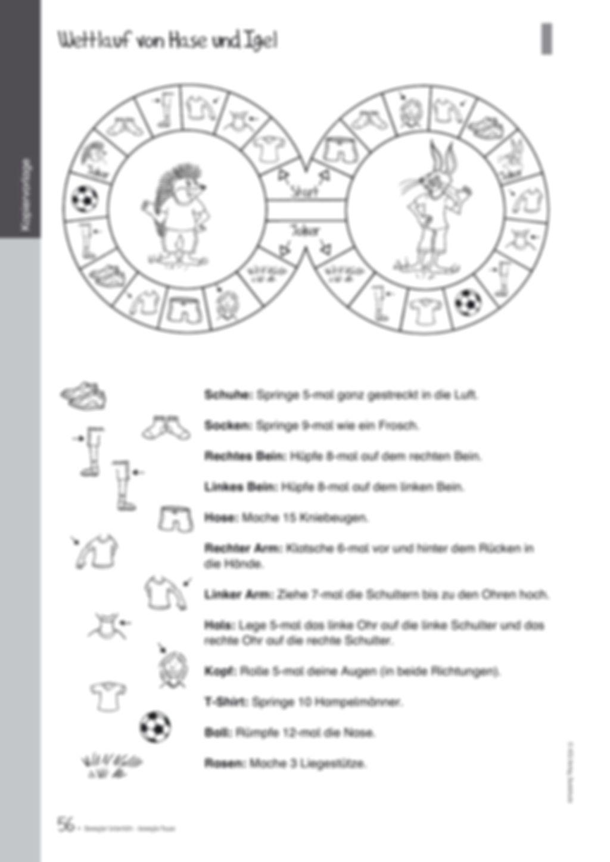 Übungen und Spiele für eine bewegte Grundschule: Material komplett Preview 52