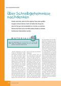 Deutsch, Schreiben, Sprache, Didaktik, Schreibprozesse initiieren, Sprachbewusstsein, Aufbau von Kompetenzen, Unterrichtsmethoden, Unterricht vorbereiten, Schreibkonferenz