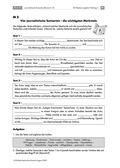 Deutsch, Literatur, Lesen, Schreiben, Sprache, Non-Fiktionale Texte, Leseverstehen und Lesestrategien, Schreibprozesse initiieren, Sprachbewusstsein, Textsorten, lückentext
