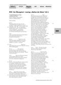 Deutsch, Literatur, Schreiben, Sprache, Fiktionale Texte, Umgang mit fiktionalen Texten, Produktion formaler Texte, Schreibprozesse initiieren, Sprachbewusstsein, Lyrik, Analyse fiktionaler Texte, Einleitung schreiben, Analyse Gedicht