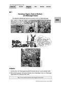 Deutsch, Literatur, Medien, Umgang mit fiktionalen Texten, Umgang mit Medien, Gattungen, Comic, Textverständnis, Nibelungenlied