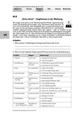 Deutsch, Sprache, Medien, Sprachphänomene, Film und Fernsehen, Anglizismen, Werbung analysieren