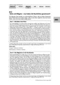 Deutsch, Literatur, Umgang mit fiktionalen Texten, Analyse fiktionaler Texte, Gattungen, Fiktionale Texte, Sagen, Gattungsmerkmale