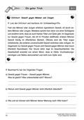 Deutsch, Deutsch_neu, Literatur, Lesen, Themenfelder, Primarstufe, Sekundarstufe I, Sekundarstufe II, Non-Fiktionale Texte, Leseverstehen und Lesestrategien, Gewalt, Textverständnis, Erschließung von Texten