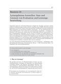 Objektivität, Evaluation, Leistungsbeurteilung