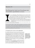Deutsch, Didaktik, Aufbau von Kompetenzen, Lernstrategien, Pädagogik, Psychologie