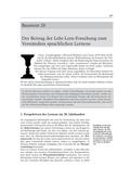 Deutsch_neu, Sekundarstufe II, Sprache und Sprachgebrauch untersuchen, Sprechen und Zuhören, Pädagogik, Psychologie
