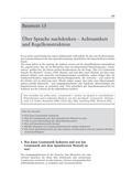 Deutsch_neu, Sekundarstufe II, Sprache und Sprachgebrauch untersuchen, Sprechen und Zuhören, Sprachwissen