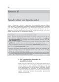 Deutsch_neu, Sekundarstufe II, Sprache und Sprachgebrauch untersuchen, Sprechen und Zuhören, Dialekt, Soziolekt