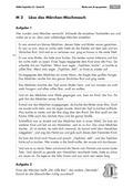 Deutsch, Literatur, Lesen, Fiktionale Texte, Umgang mit fiktionalen Texten, Schriftspracherwerb, Epik, Analyse fiktionaler Texte, Gattungen, Märchen