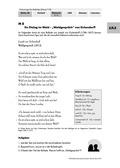 Deutsch, Literatur, Fiktionale Texte, Literaturgeschichte, Umgang mit fiktionalen Texten, Autoren, Lyrik, Analyse fiktionaler Texte, Joseph von Eichendorff, Gattungen, Merkmale von Balladen, Gedichtinterpretation, Gedichte, Waldgespräch