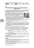 Deutsch, Sprache, Sprachbewusstsein, Bedeutungswandel, Inversionsregel