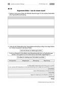Deutsch, Schreiben, Erörterndes Schreiben, Aufbau von Argumenten