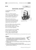Deutsch, Literatur, Fiktionale Texte, Umgang mit fiktionalen Texten, Lyrik, Analyse fiktionaler Texte, Moderne Lyrik, interpretation