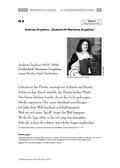 Deutsch, Literatur, Fiktionale Texte, Umgang mit fiktionalen Texten, Lyrik, Analyse fiktionaler Texte, Barockgedichte, interpretation