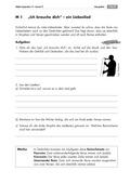 Deutsch, Literatur, Fiktionale Texte, Umgang mit fiktionalen Texten, Lyrik, Gattungen, Analyse fiktionaler Texte, Lied, Liebesgedichte, Reimschema, reimwörter