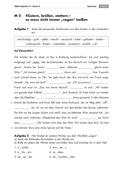 Deutsch, Lesen, Sprache, Schriftspracherwerb, Sprachbewusstsein, Wortfelder, Wortfeld sagen, Sprachvarianz, Grammatik