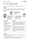 Deutsch, Schreiben, Sprache, Erörterndes Schreiben, Schreibprozesse initiieren, Sprachbewusstsein, Erörternd schreiben, Argumentieren, Argumentation, Meinung formulieren