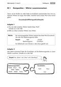 Deutsch, Deutsch_neu, Sprache, Primarstufe, Sekundarstufe I, Sekundarstufe II, Sprachbewusstsein, Grammatik, Sprache und Sprachgebrauch untersuchen, Reflexion über Sprache, Wortbildung, Sprachliche Strukturen und Begriffe auf der Wortebene, Wortzusammensetzungen