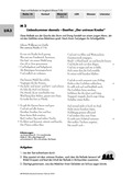 Deutsch, Literatur, Fiktionale Texte, Literaturgeschichte, Umgang mit fiktionalen Texten, Autoren, Lyrik, Epik, Analyse fiktionaler Texte, Goethe, J. W. von Goethe, Balladen, Gattungen, Der untreue Knabe
