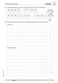 Mathematik, Zahlen & Operationen, Zahlenraum, arbeitsblätter